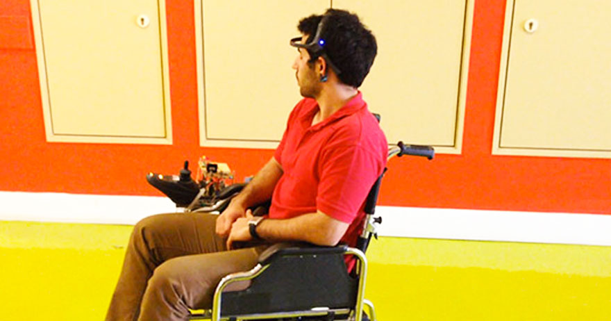Engineering Students Use Power Of Thinking To Control Wheelchair-1