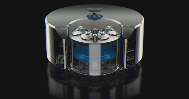 Eye 360: Dyson First High-End Autonomous Robot Vacuum Cleaner-4