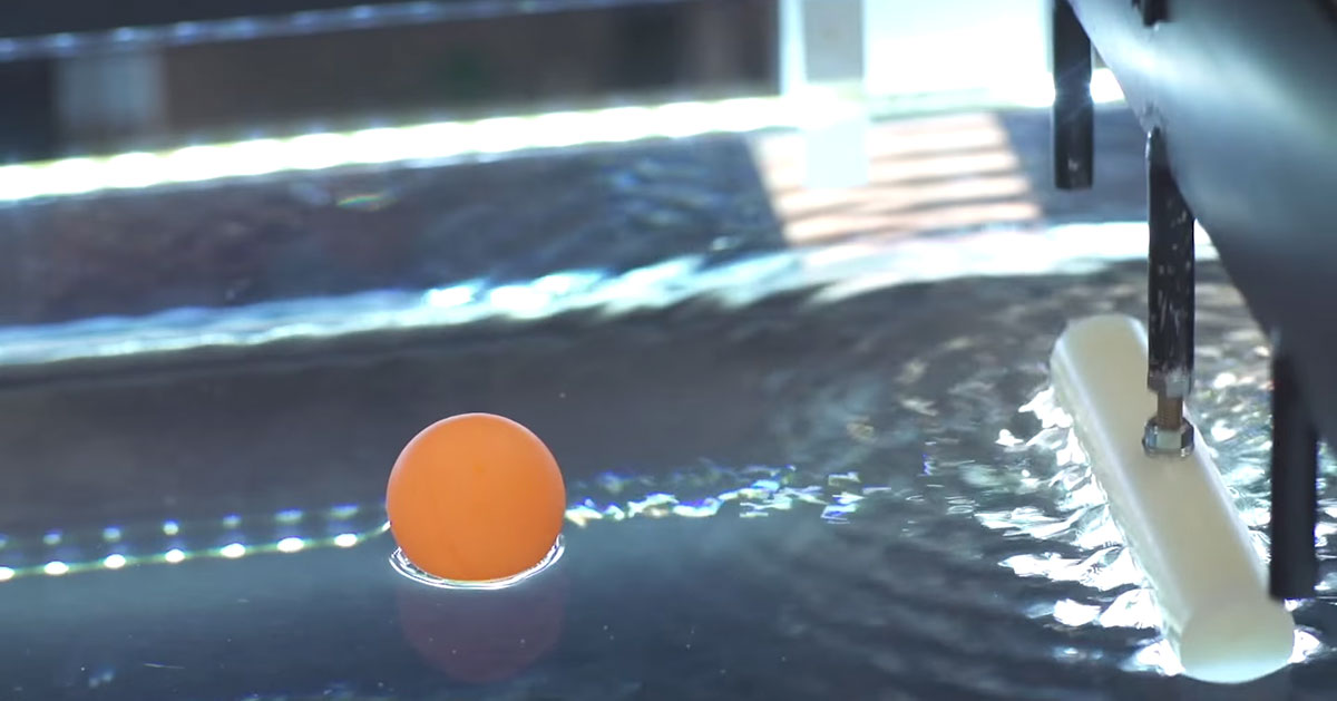 Groundbreaking Scientists Manipulate Water Waves To Move