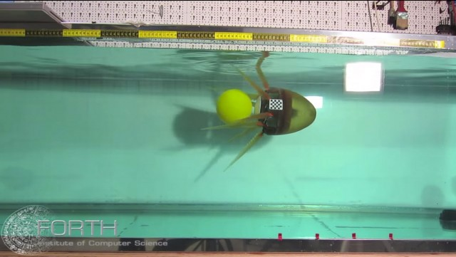 Greek Scientists Design Octopus Inspired Robot That Moves Fast Under Water-3