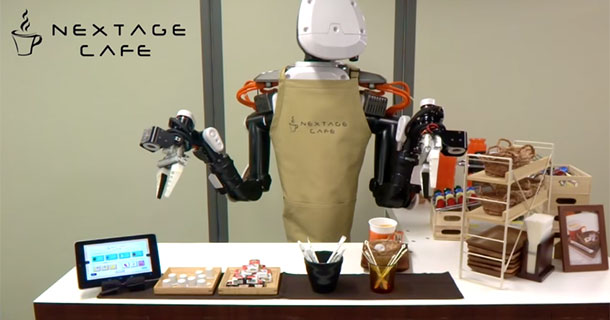 Nextage: This Robot Can Not Only Build Aircrafts But Also Serve Coffee-1