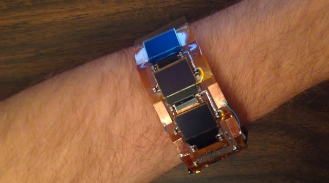 Play Tetris Anytime And Anywhere With This High-tech Wristband-