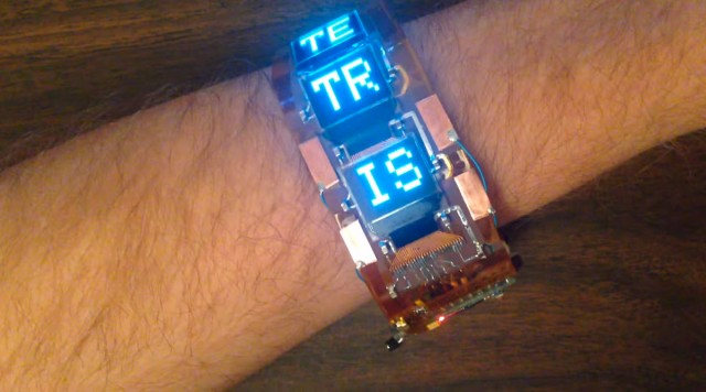Play Tetris Anytime And Anywhere With This High-tech Wristband-1