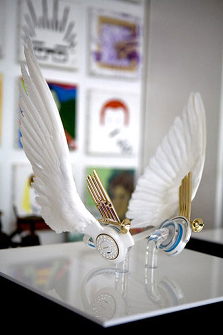 Headphones with angel wings-20 Stylish Audio Headphones To Enjoy Your Favorite Music-