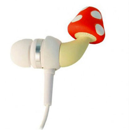 Mushroom headphones-20 Stylish Audio Headphones To Enjoy Your Favorite Music-2