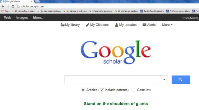 How To Cite an article using google scholar