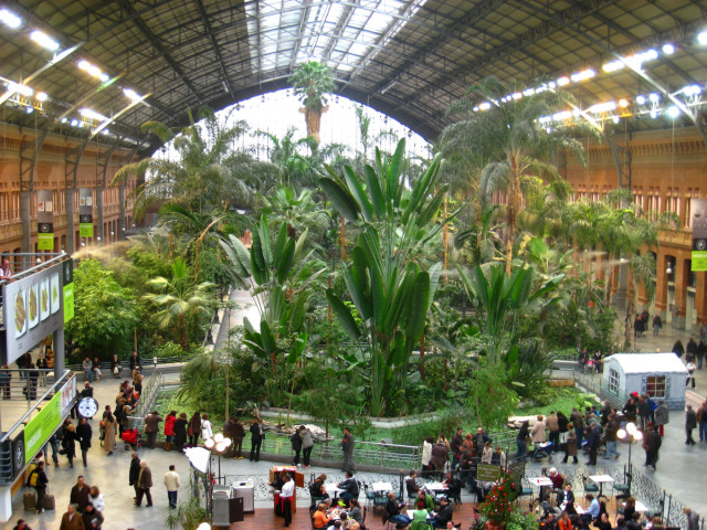 Atocha station in Madrid, Spain-25 Most Beautiful Subway Stations Around The World (Photo Gallery)-20