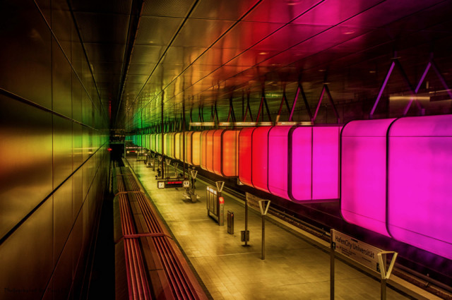 The station HafenCity in Hamburg, Germany-25 Most Beautiful Subway Stations Around The World (Photo Gallery)-21