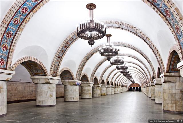 Zoloti Vorota station in Kiev, Ukraine-25 Most Beautiful Subway Stations Around The World (Photo Gallery)-23