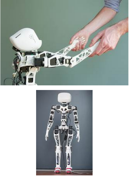 Poppy: The World's First Completely Open Source Humanoid-2