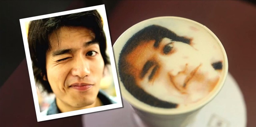 Now Enjoy Coffee With Your Face Printed On It!!!-