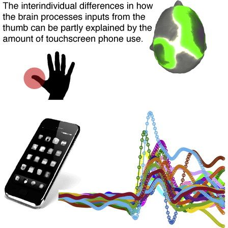 Smartphones Influence Development Of Brain Areas Related To Sense Of Touch-