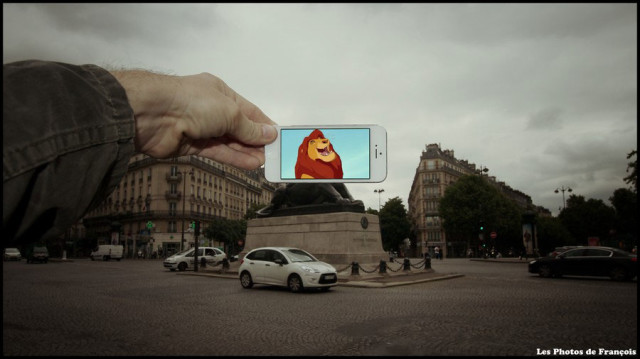 Using iPhone François Merges Fiction With Reality To Create Funny Picture Associations-2