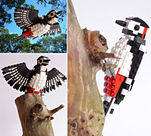 Amazing Bird Models Made Using Simple LEGO Bricks-1
