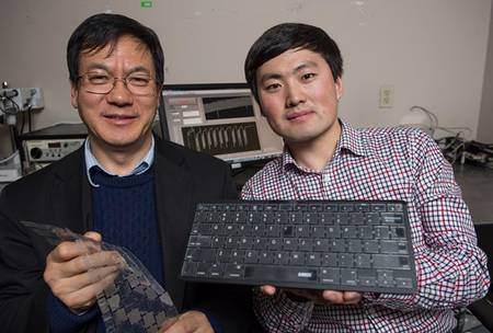An Amazing Biometric Keyboard That Recognizes Its User-