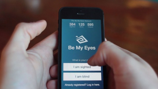 Give Your Eyes To Blind And Visually Impaired Using This Extraordinary iPhone App-2