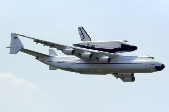 Antonov AN-225 world's largest transport aircraft-