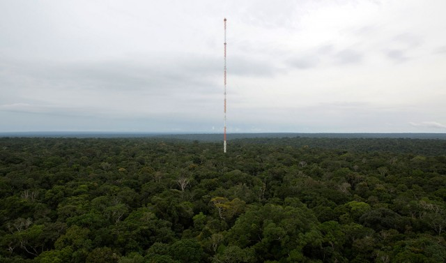 Discover This Gigantic Meteorological Tower Erected In Amazon Rainforest-4