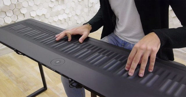 Discover This Unconventional Piano To Compose Melodies By Dragging And Vibrating Your Fingers-2