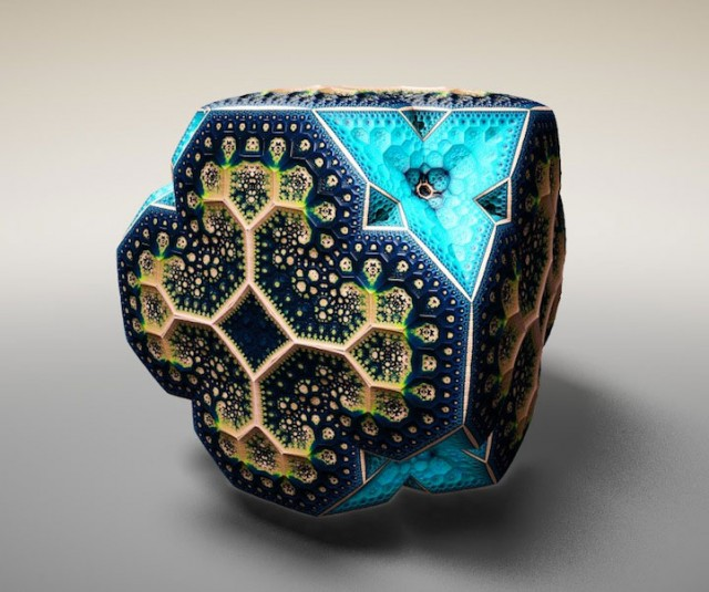 Wonderful 3D Sculptures Made Using Mathematical Formulas-