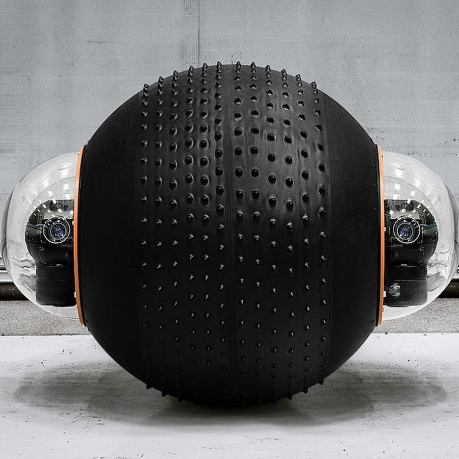 GuardBot- A Spherical Robot Comfortable Both On Land And Water-4