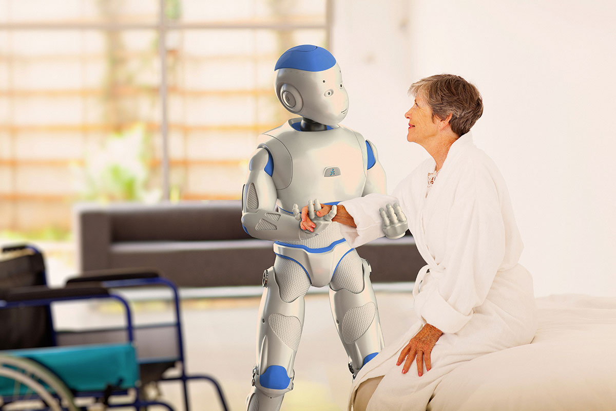 Romeo-An Intelligent French Robot To Help Elderly With Daily Tasks