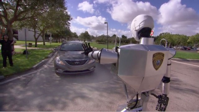 Telebot: An Amazing Robot To Assist The Policemen On The Ground-5