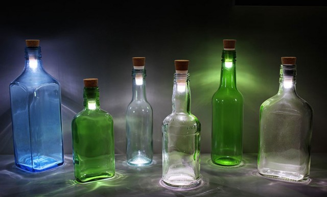 Recycle Your Glass Bottles Into Ecological And Decorative lamps-3