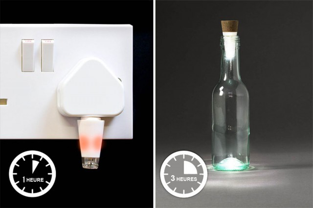 Recycle Your Glass Bottles Into Ecological And Decorative lamps-4
