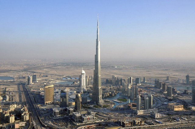 Burj Khalifa-Top 10 Tallest Skyscrapers That Are Engineering Marvels-28