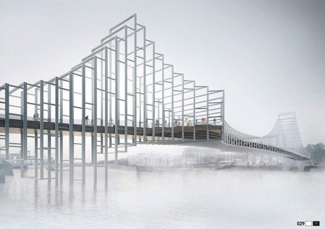 12 Most Beautiful Designs For The Planned Pedestrian Bridge In London-