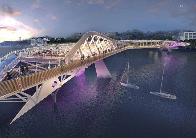 12 Most Beautiful Designs For The Planned Pedestrian Bridge In London-1