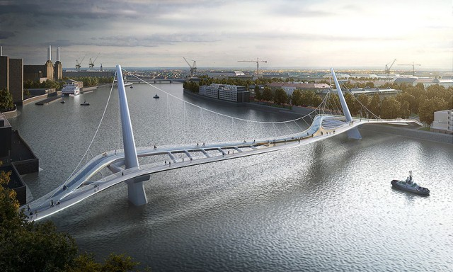 12 Most Beautiful Designs For The Planned Pedestrian Bridge In London-6