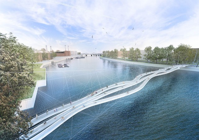12 Most Beautiful Designs For The Planned Pedestrian Bridge In London-9