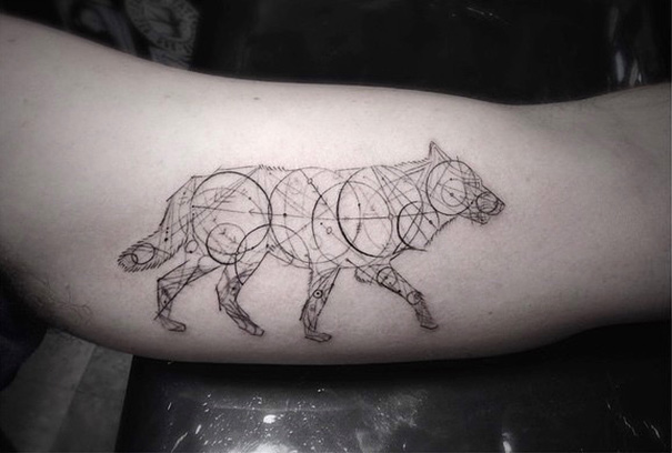These Geometric Ink Tattoos Will Blow You Away-