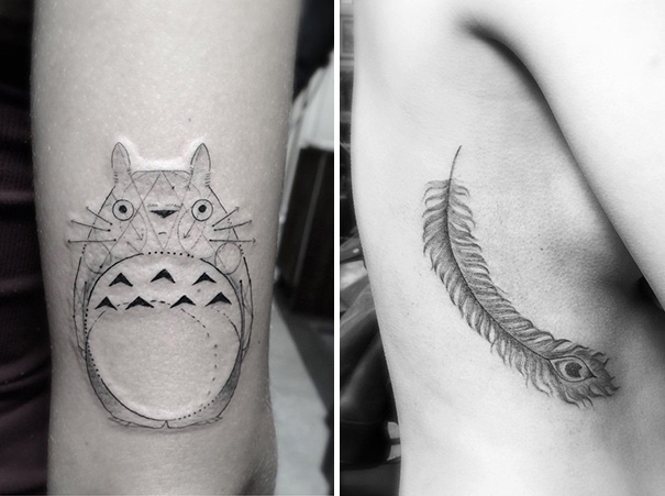 These Geometric Ink Tattoos Will Blow You Away-1