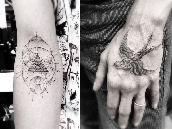 These Geometric Ink Tattoos Will Blow You Away-10