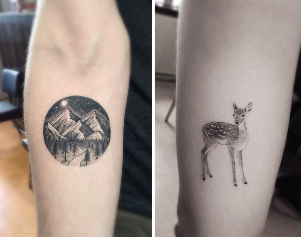 These Geometric Ink Tattoos Will Blow You Away-11