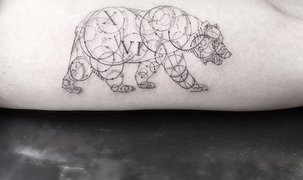 These Geometric Ink Tattoos Will Blow You Away-5