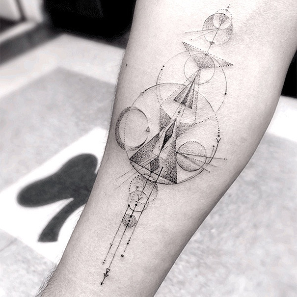 These Geometric Ink Tattoos Will Blow You Away-6