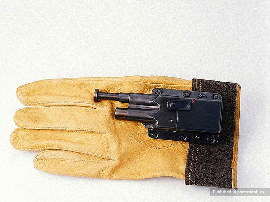 Sedgley OSS .38 Glove Pistol-39 Amazing Spy Gadgets From The Cold War Era-22