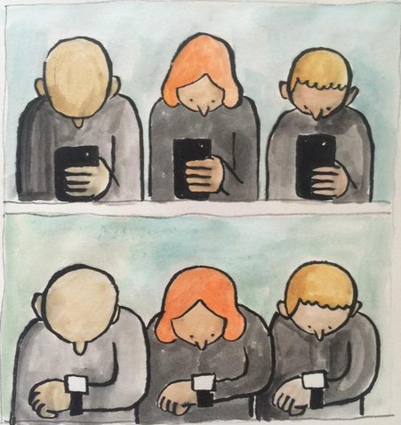 Bad effects of smartphones