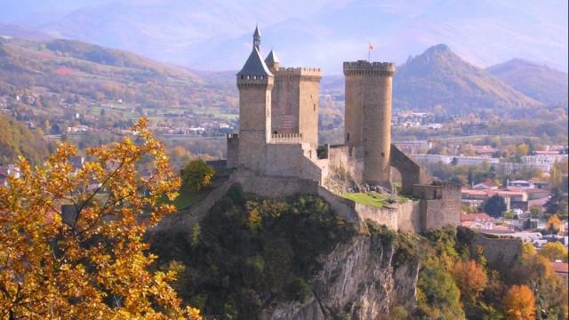 Château-de-Foix-Midi-Pyrénées-Region-France