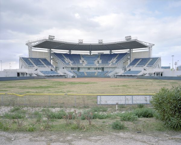 Helliniko Stadium-Top 16 Haunting Photos Of Abandoned Olympic Venues-1