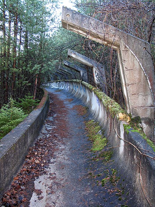Top Haunting Photos Of Abandoned Olympic Venues - 30 haunting images abandoned olympic venues