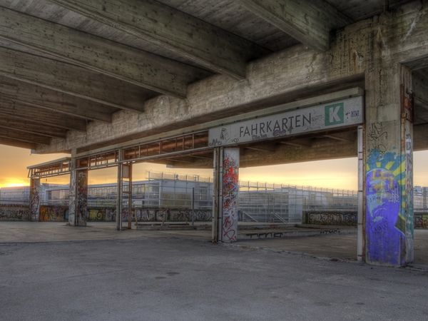 MUNICH 1972 train station-Top 16 Haunting Photos Of Abandoned Olympic Venues-6