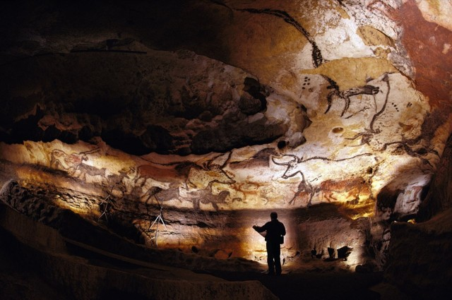 Lascaux Caves, near the village of Montignac, Dordogne