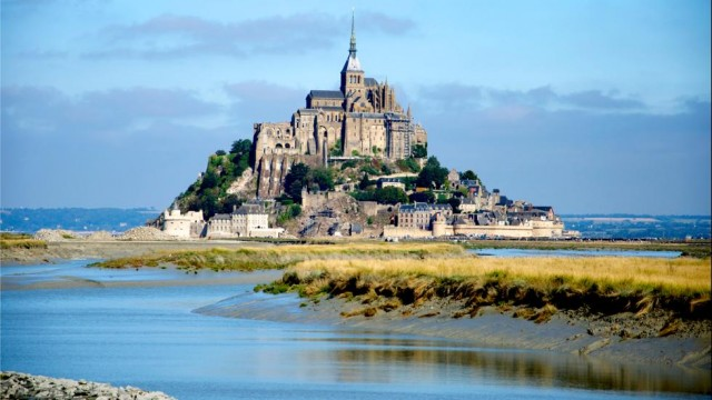 Mont-Saint-Michel-Lower-Normandy-Region-Beautiful-France