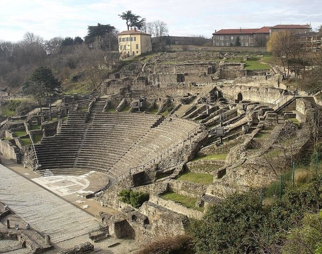 Roman-era-amphitheater-Lyon-France