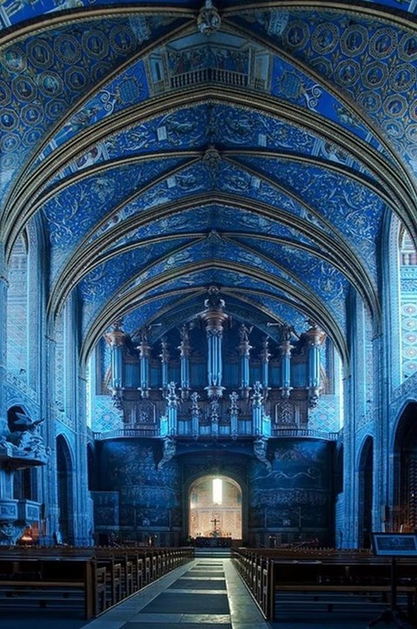 Saint-Cecil-Cathedral-Albi-Beautiful-France